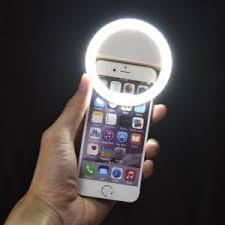 luce anello  per cellulare