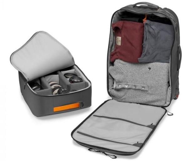 AmazonBasics DSLR e Laptop Zaino con interno arancione