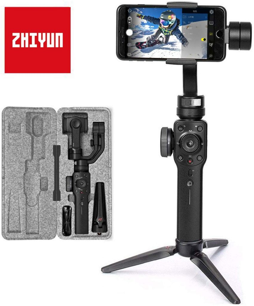 Zhiyun Smooth 4 Stabilizzatore Gimbal 3 Assi per Smartphone a 210g