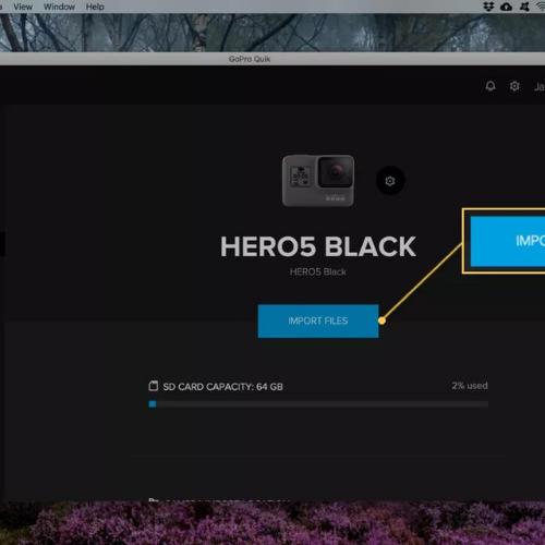 Come collegare GoPro al Mac